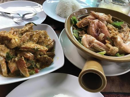 정통 태국 요리
