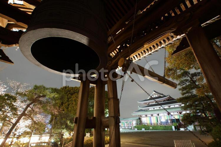 孝道山の鐘の写真