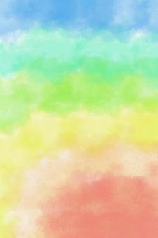 Watercolor / Rainbow / Background [TKPp]