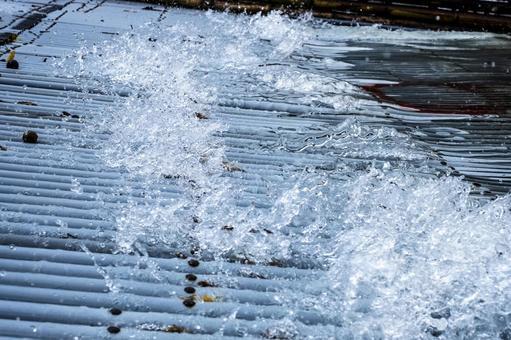 Yana's water splash