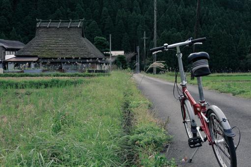 미야마 초가 마을 자전거