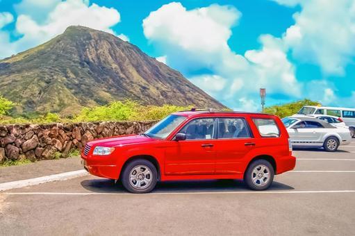 Drive Hawaii with a rental car