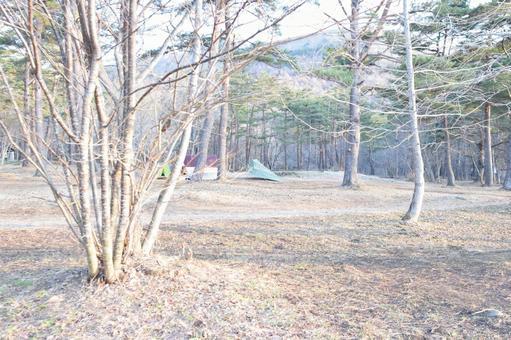 Camp morning tent tarp