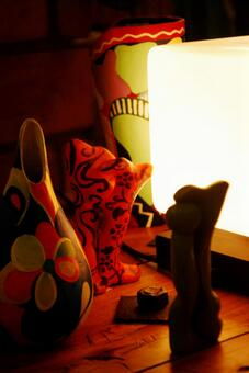 Colorful miscellaneous goods