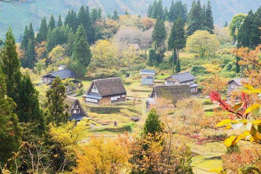 Gokayama of World Heritage