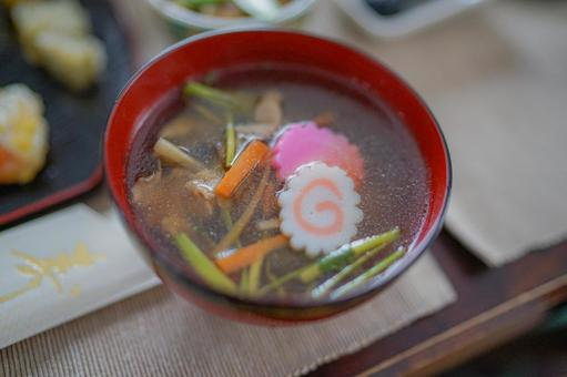 New Year dishes (Japanese New Year)