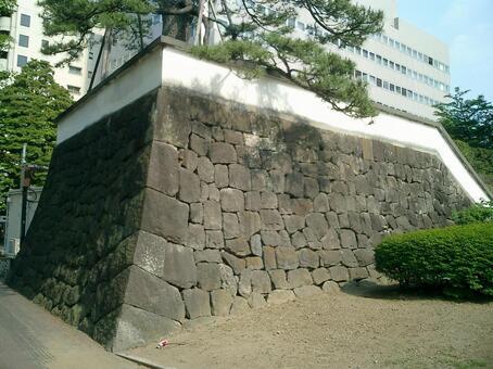 高崎城堡的石垣