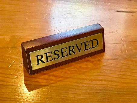Reservation table 01
