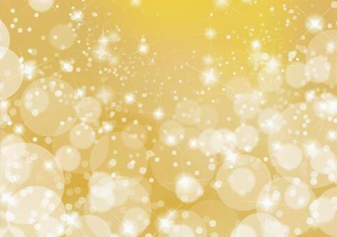 Gold glitter background material texture