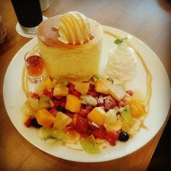Extra-thick pancake
