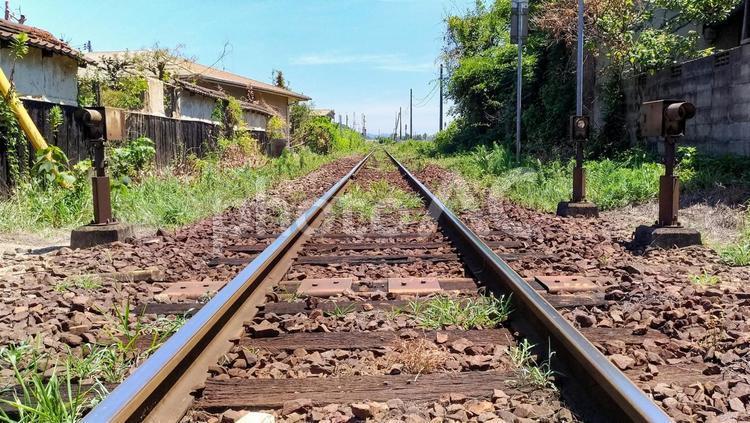 ローカル線の旅 イメージの写真