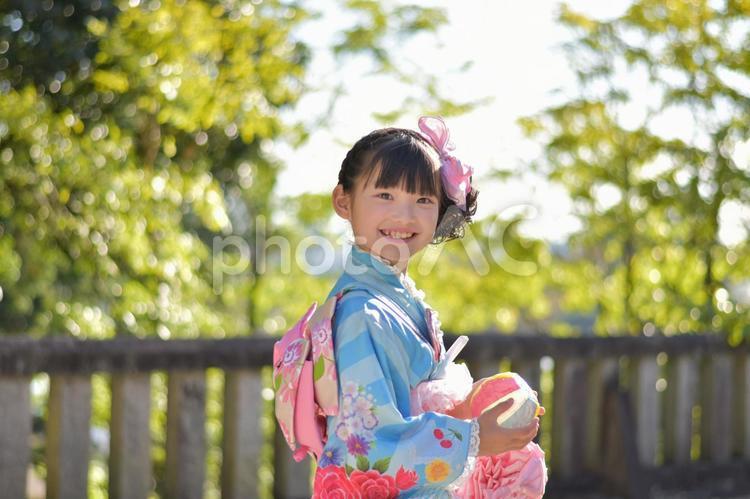 七五三の女の子 7歳の写真