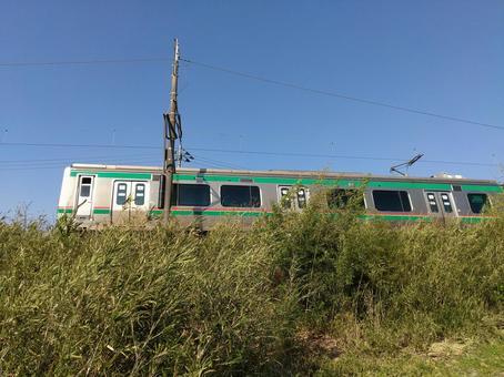 도호쿠 본선 전철 JR 미나미 후쿠시마 역 근처