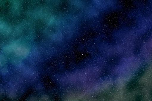 Perfect starry sky_Milky Way in the night sky