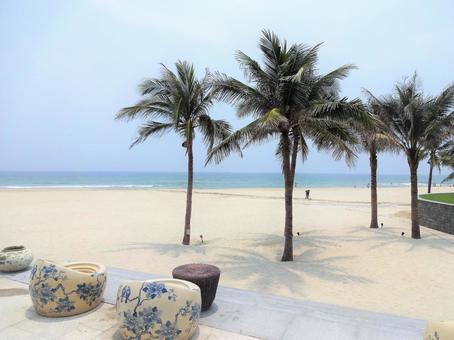 베트남 다낭의 해변