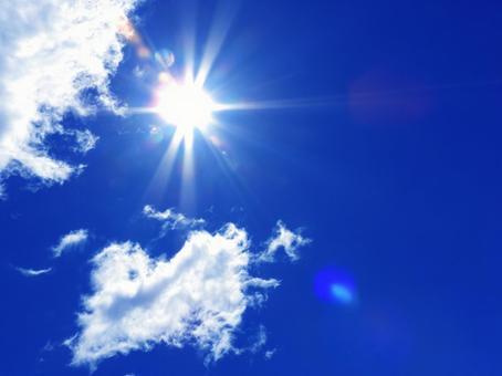 Blue Sky and the Sun