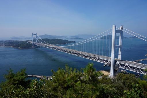 瀨戶大橋的絕佳景觀