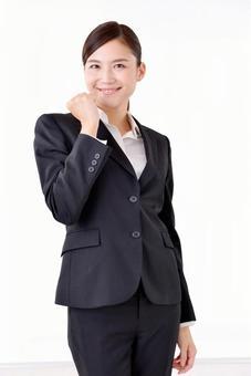 A woman in suit shape 229