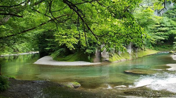 Nishigo Village Promenade Mainstream of the Abukuma River