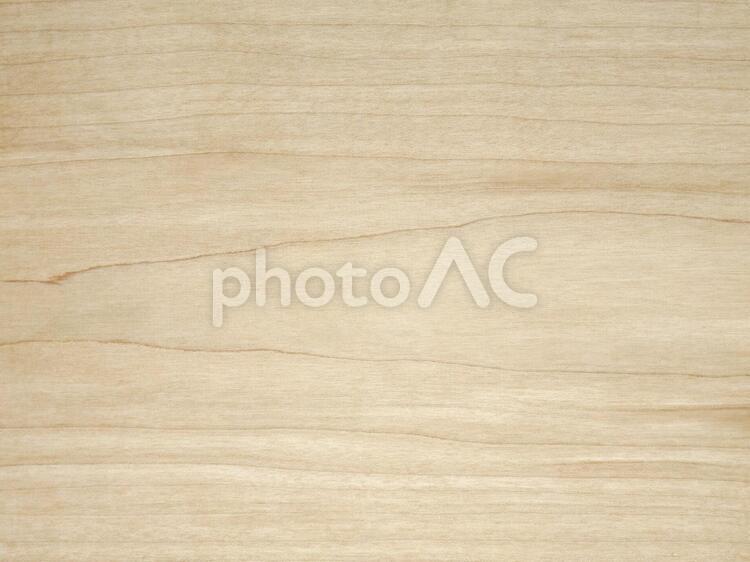木のテクスチャー(樹種:ハードメープル)の写真