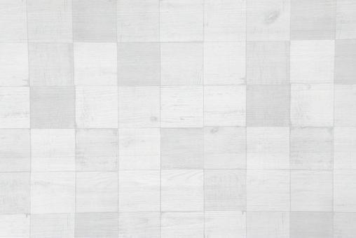 White wood background / plaid