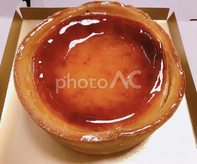 ベイクドチーズケーキ001の写真