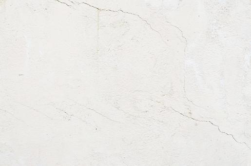 갈라진 흰 벽