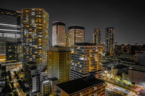 High-rise condominiums in Toyosu (Koto-ku, Tokyo)