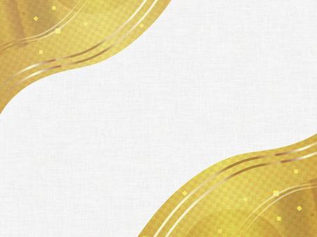 Japanese style gold background 161208