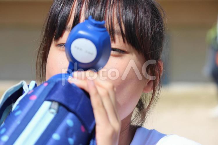水分補給の写真