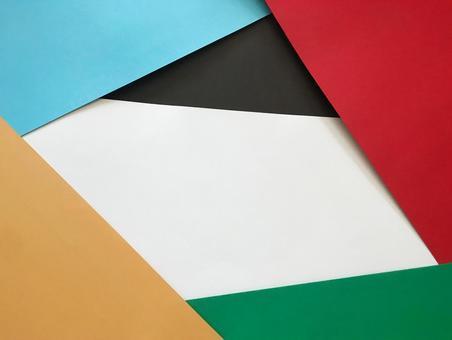 Olympic emblem color frame