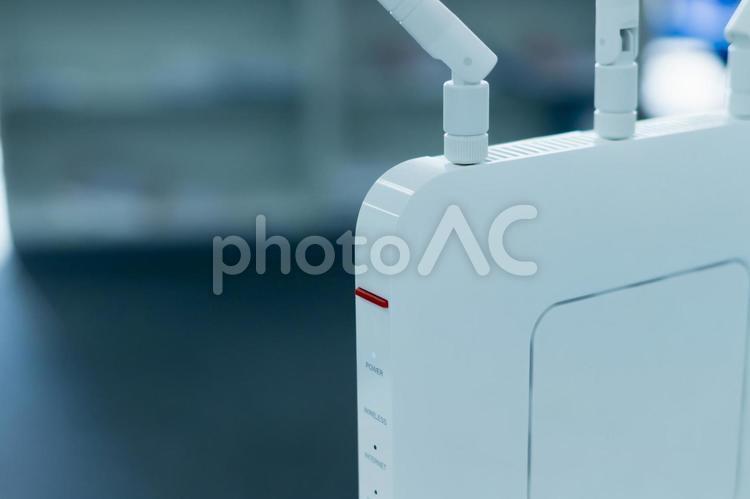 無線LANルーターの写真