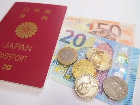 여권 및 달러