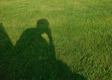 Thought on the grass