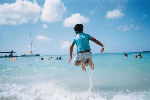 I like the sea