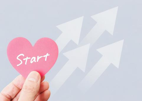 Start character on the heart