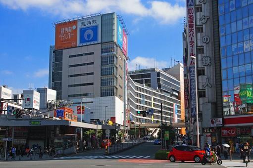 Shinjuku West Exit Shinjuku Large Guard West Intersection