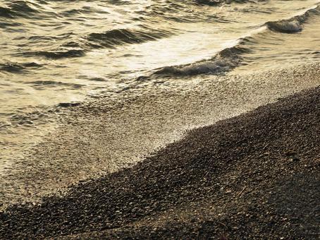 카나가와 현 미우라 반도의 바다