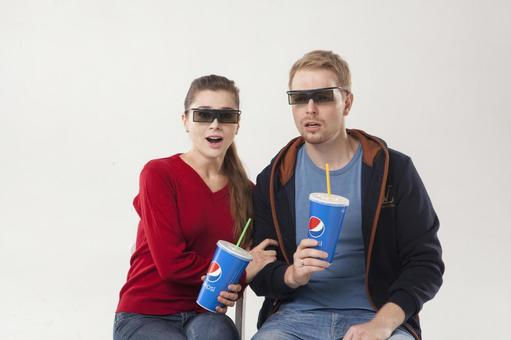 Watch 3D movies Couple 3