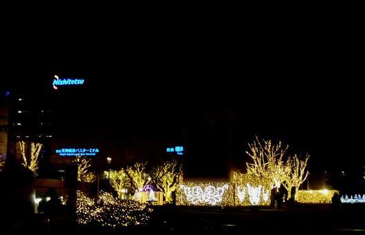 Illuminated Security Park
