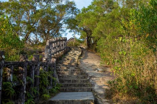 Gunkaniwa hiking course