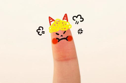 Cute finger child 7