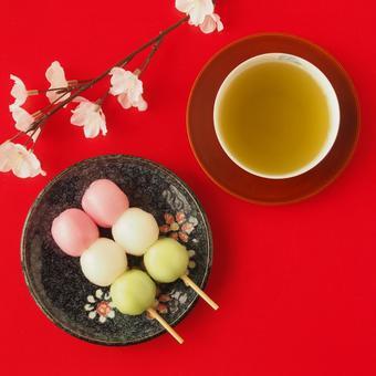 Cherry blossom dumpling