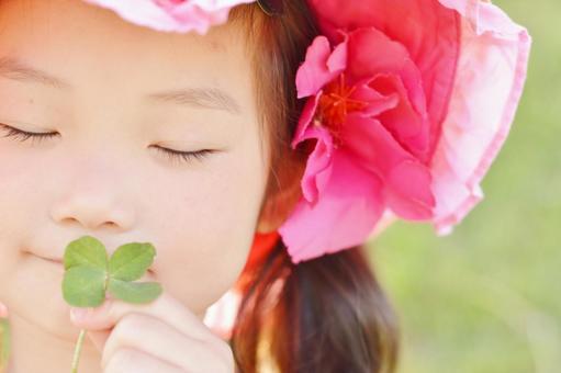 네 잎과 아이