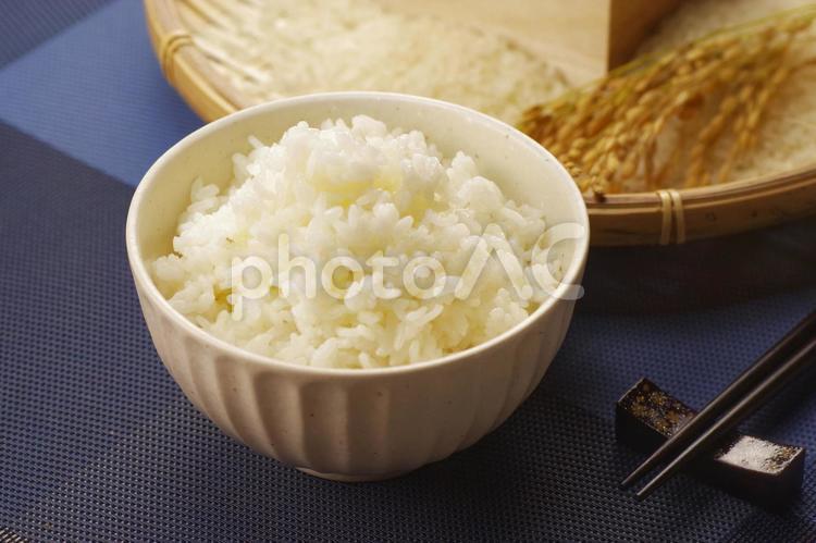 ご飯とお米 秋の恵みの写真