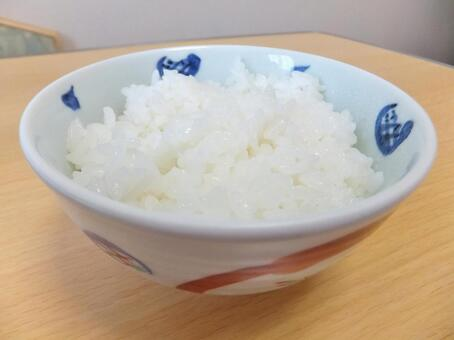 Freshly cooked rice 1