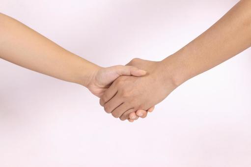 手的部分(握手)11