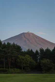 Mt. Fuji from Yamanashi National Tree-Raising Festival Memorial Square