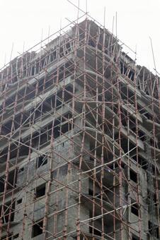 Building under construction in Pakistan 3