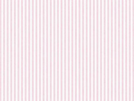 수채화 같은 질감 줄무늬 소재 핑크 × 화이트